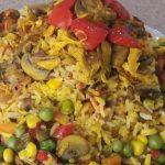 طرز تهیه پلو سبزیجات با مرغ و راز خوشمزه شدن پلو سبزیجات هندی