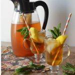 طرز تهیه چای میوهای با طعم نعنا