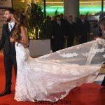 مراسم عروسی لیونل مسی و گالری عکس ها