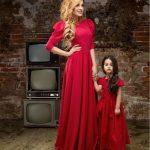 ژورنال شیک ترین مدل ست لباس مجلسی مادر و دختر 2017، 1396