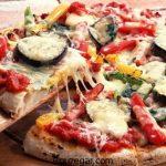پیتزا سبزیجات مخصوص رژیمی + طرز تهیه پیتزا سبزیجات بدون فر