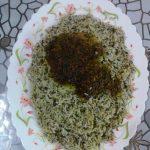 سبزی پلو با ماهیچه + طرز تهیه سبزی پلو با ماهی