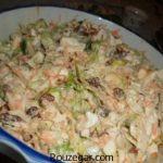سالاد کلم و هویج + طرز تهیه سالاد کلم و ذرت