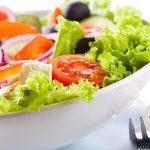 طرز تهیه سالاد سبزیجات و سرکه