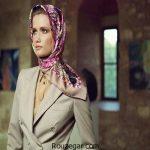 مدل بستن روسری شیک و جدید برای بانوان خوش سلیقه