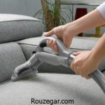 آموزش نحوه صحیح شستشوی مبل در منزل و نکات مهم شستشوی مبل چرم