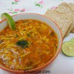 سوپ سرماخوردگی خوشمزه + طرز تهیه سوپ سرماخوردگی برای کودک