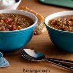 سوپ عدس و اسفناج + طرز تهیه سوپ عدس خوشمزه با قارچ