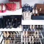 ایده های ناب برای جا کردن کیف و کفش در خانه