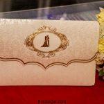 انواع جذاب ترین مدل کارت عروسی شیک و مدرن 2018 طرح طلاکوب