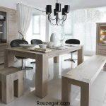 دکور اتاق غذاخوری ساده و مدرن