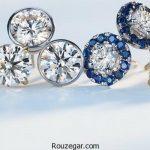 شیک ترین و خاص ترین مدل گوشواره های الماس