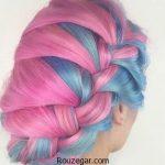 رنگ فانتزی و آموزش استفاده از آن برای موی سر