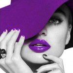 رژ لب بنفش + آرایشی زیبا و خاص با رژلب بنفش