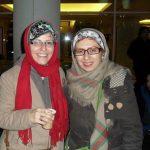عکس رضا عطاران و همسرش فریده فرامرزی