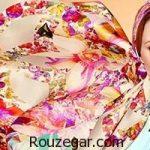 برترین و شیک ترین های مدل روسری ابریشمیبا برند CoCo