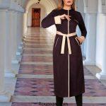 شیک ترین مدل مانتو زنانه و دخترانه مجلسی رنگ سال 97 – 2018