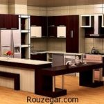مدل کابینت جدید آشپزخانه با طراحی شیک و متفاوت 2017