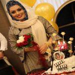 تولد 28 سالگی ژاله درستكار + عکس کیک تولد