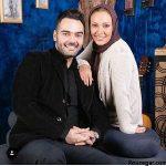 عکس جدید زیبا بروفه و همسرش در تولد مادر شوهر